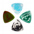 Resin Tones Gypsy Mixed Pack of 4 Guitar Picks